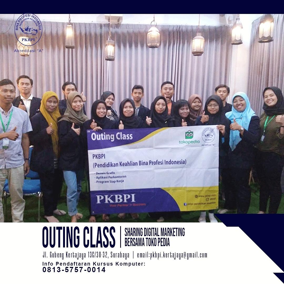 Kursus Komputer Surabaya - Outing Class PKBPI 2020