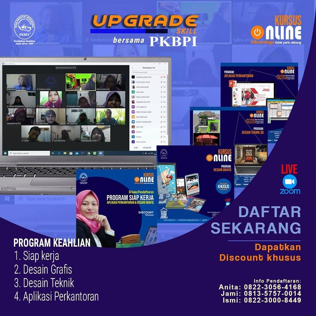 Kursus Komputer Surabaya - Kursus Online Serasa Dikelas Sesungguhnya