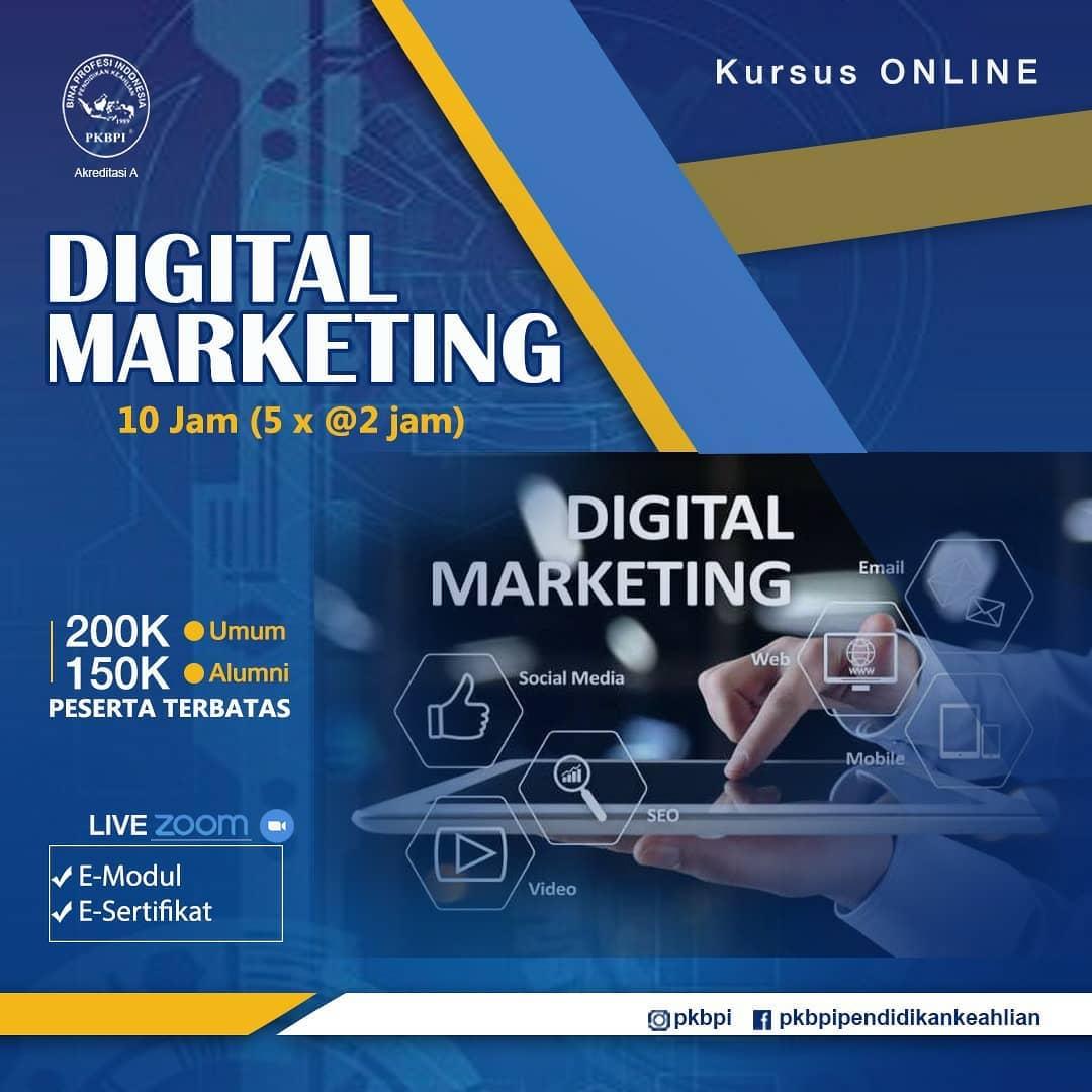 Kursus Komputer Surabaya - Kursus Online Digital Marketing PKBPI