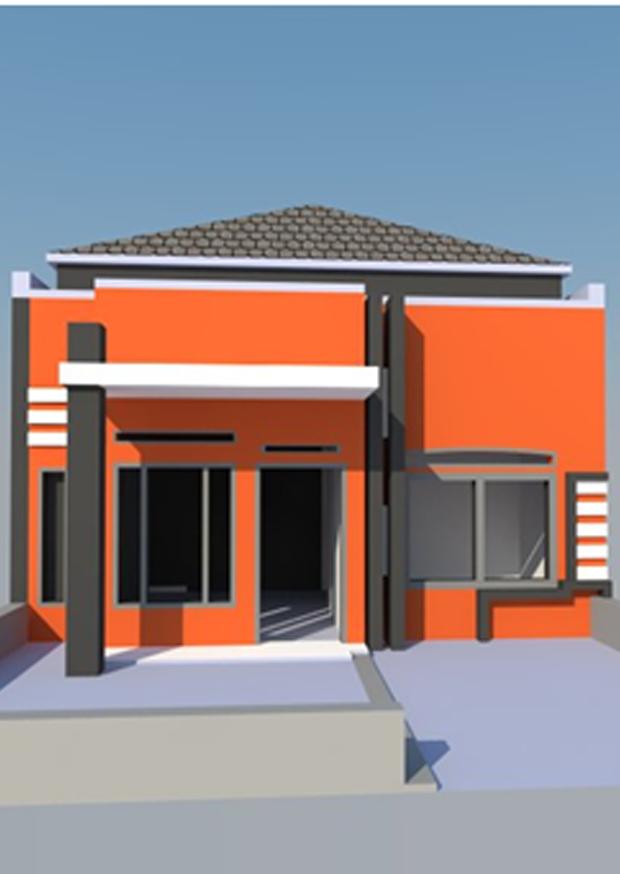 Kursus Online Komputer Surabaya - Hasil Karya DESAIN RUMAH 3D